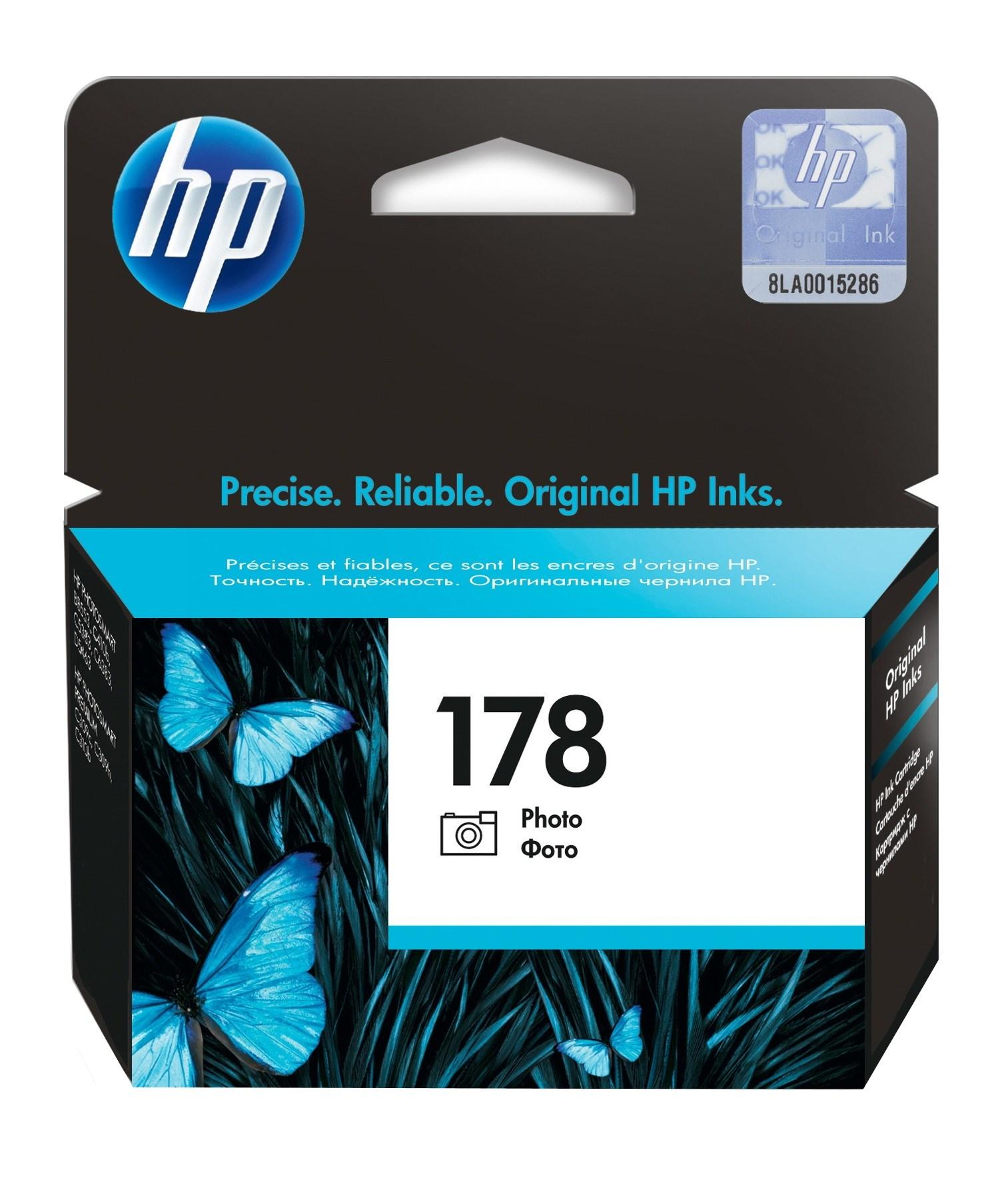 Картридж HP CB318HE (№ 178) синий 4 мл PS D5463 C5383 / C6383 300